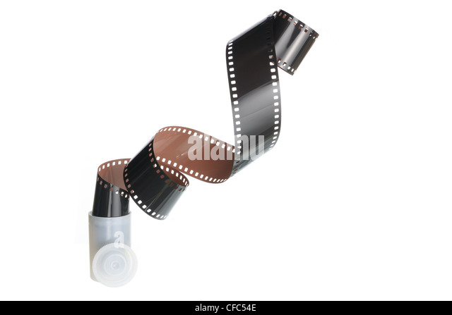 Strip of Camera Film - Stock Image