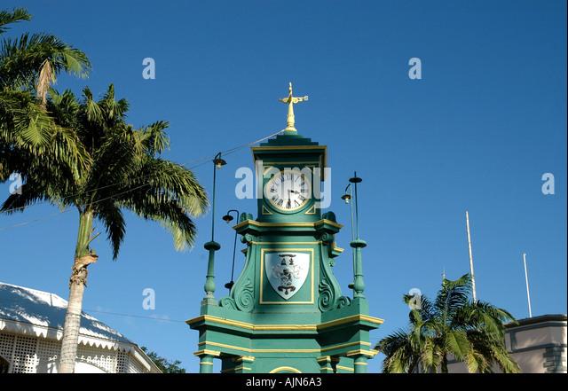 St Kitts The Circus Berkeley Memorial Clock - Stock Image