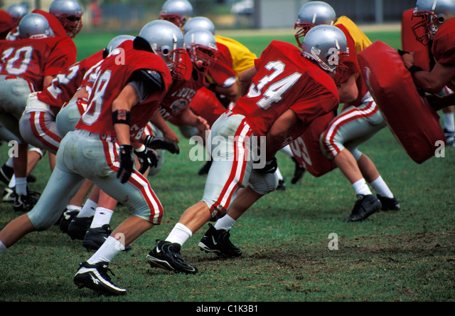 United States, American football match - Stock Image