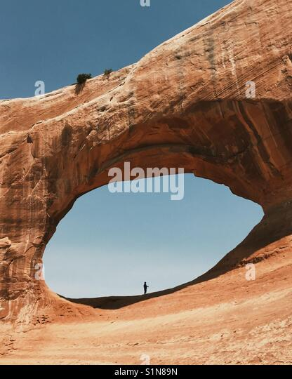 Desert Arch - Stock Image