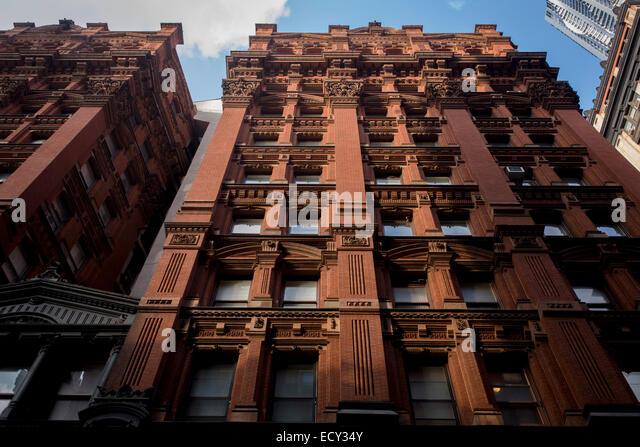 Tall Building Brick St... ...
