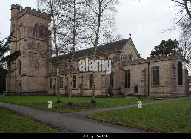 Parish Church Beeston - Stock Image