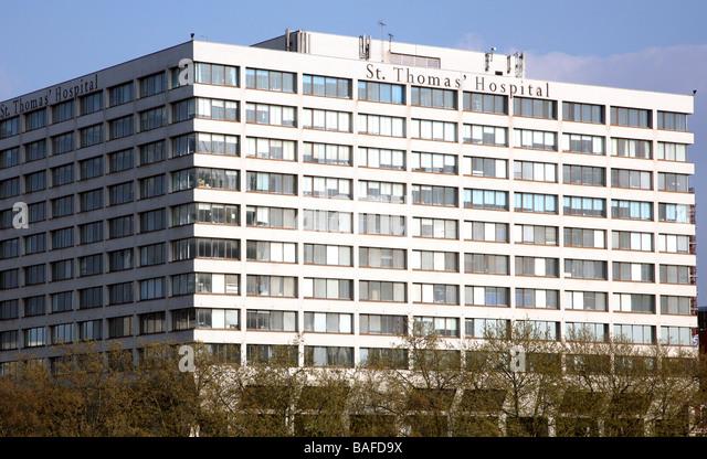 St Thomas Hospital London 2009 - Stock Image