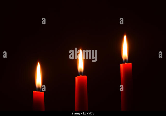 red candle black background - photo #38