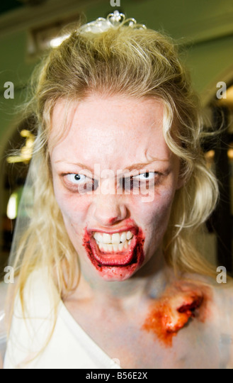 Zombie walk - Stock Image