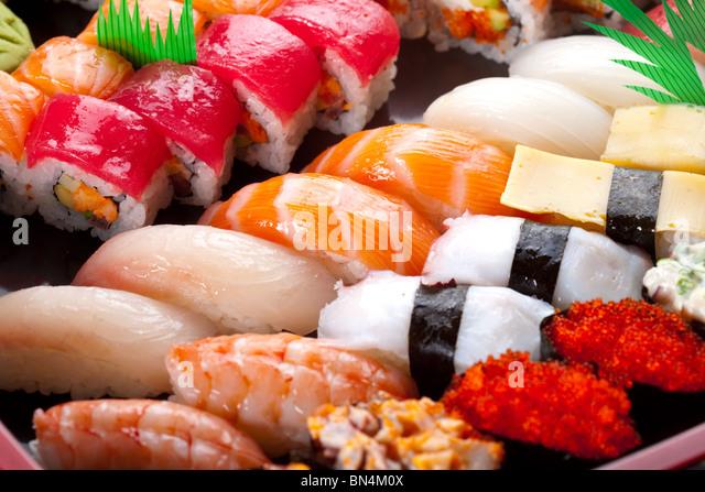 Sashimi. - Stock Image