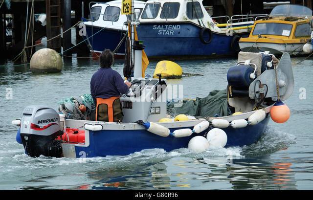 Crab fishing boat stock photos crab fishing boat stock for 1 man fishing boat