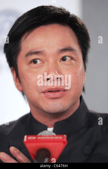 Stanley Tong at the press conference for THE MYTH Premiere at Toronto Film Festival, Sutton Place Hotel, Toronto, - Stock Image