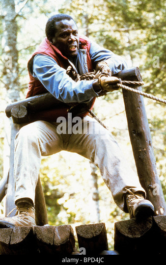 SIDNEY POITIER DEADLY PURSUIT (1988) - Stock Image
