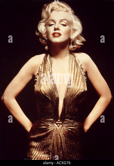 MARILYN MONROE American film actress - Stock Image