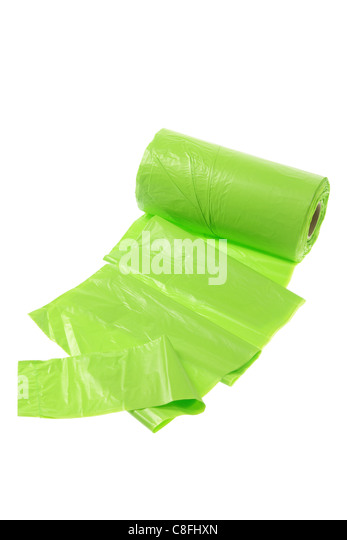 Garbage Bags - Stock Image