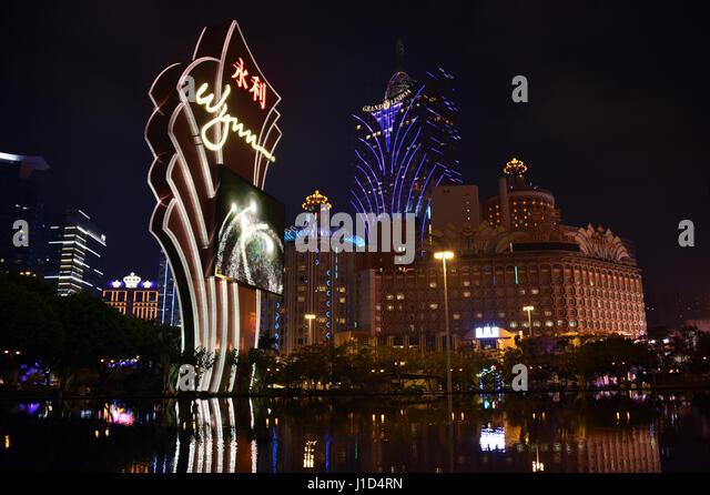 Wynne Casino, Macao - Stock Image