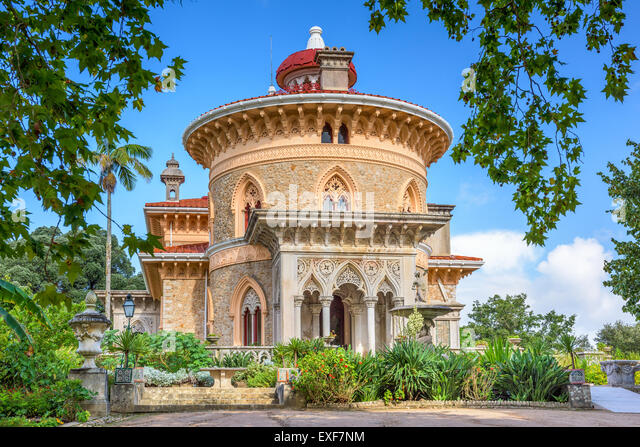Sintra, Portugal at Monserrate Palace. - Stock Image