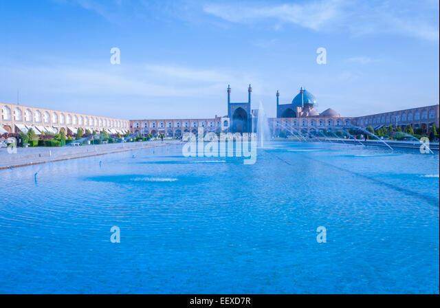 Naghsh-e-Jahan squre, Isfahan, Iran - Stock Image