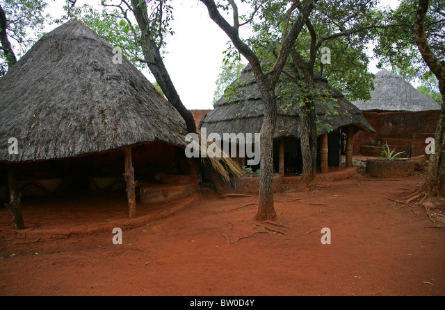 African Huts Stock Pho...