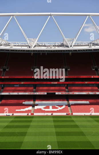 English football ground stock photos english football for Emirates stadium mural