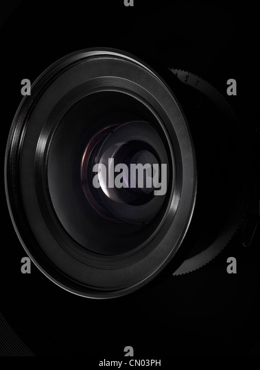 Camera lens - Stock Image