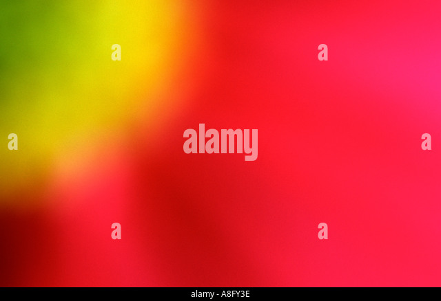 abstract red yellow and green flower - Stock-Bilder