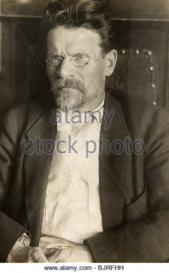 Mikhail Kalinin, Soviet politician, 20th century.  Artist: Pyotr Otsup - Stock Image