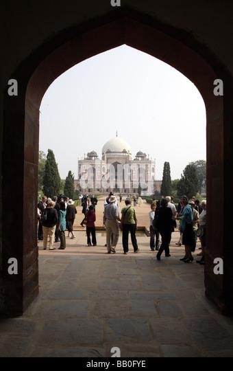 Humayun s Tomb New Delhi India - Stock-Bilder