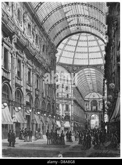 Italy Milano - Stock Image