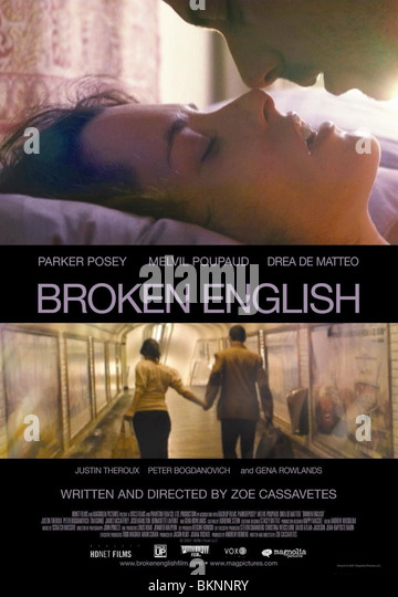 BROKEN ENGLISH -2007 POSTER - Stock Image