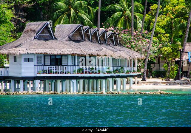El nido resorts Miniloc island, Bacuit archipelago, Palawan, Philippines, Southeast Asia, Asia - Stock-Bilder