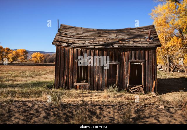 Abandoned homestead - Stock Image