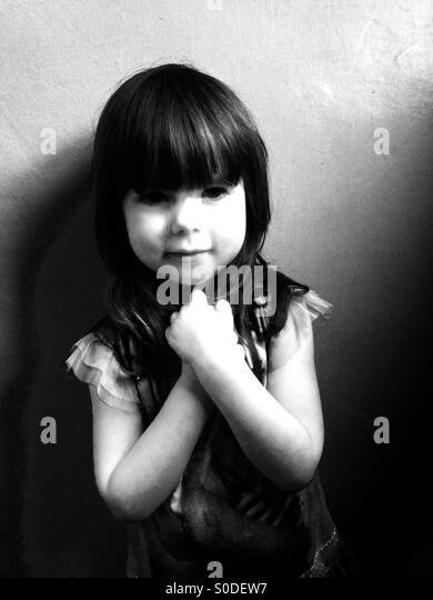 Happy little girl - Stock-Bilder
