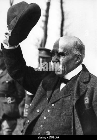 Georges Clemenceau, French Prime Minister - Stock Image
