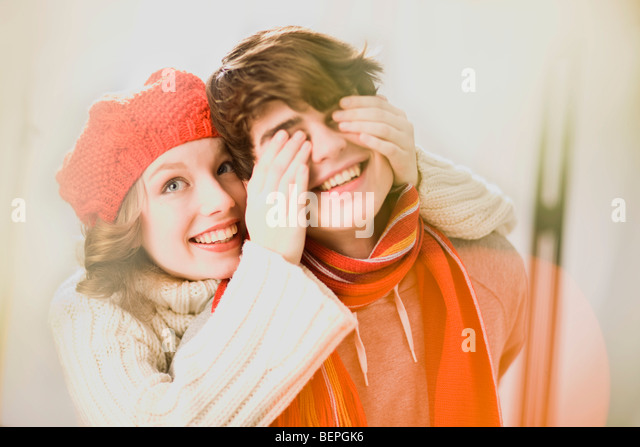 First love - Stock Image