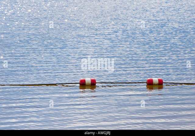 Line Of Buoys Float Stock Photos Amp Line Of Buoys Float