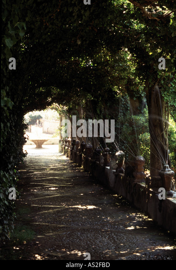 Son Alfabia, Gartenanlage 5, - Stock Image