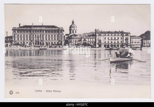 Grand Hotel Plinius & Lake Como, Como, Italy - Stock Image