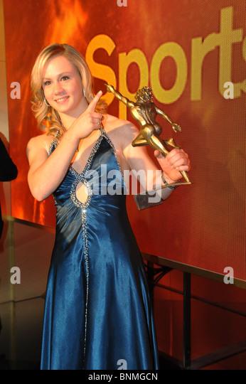 Sport gymnastics art gymnastics Ariella Käslin Switzerland sportswoman of the year honoring - Stock Image