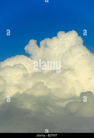 clouds in the sky - Stock Image