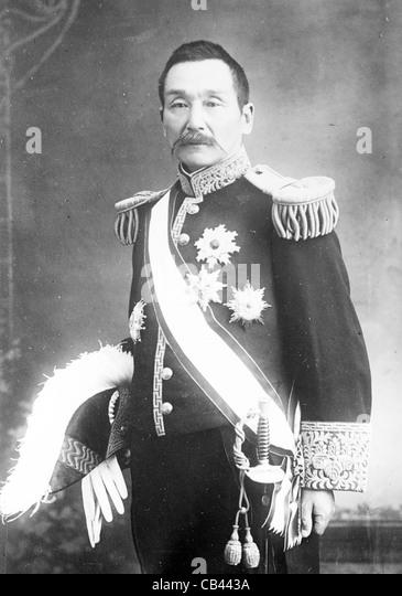 Baron Tosuke Hirata - Stock Image