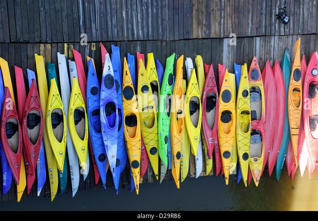 Kayaks, Washington, D.C. - Stock Image