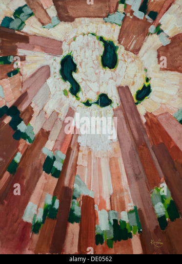 20th century  -  Primitive, 1911-1913 - Frantisek KupkaPhilippe Sauvan-Magnet / Active Museum - Stock Image