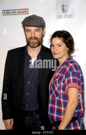 Mar. 04, 2010 - Hollywood, California, United States - Brian F. O'Bryne and Heather Goldenhersh during the Pre - Stock Image