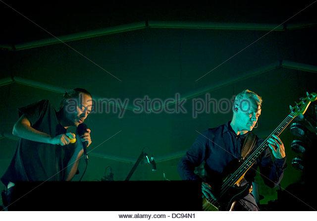 atom for peace 6 Concert 07/10/2013 - Stock-Bilder