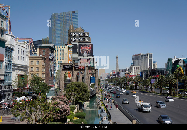 Las Vegas, The Strip - Stock Image