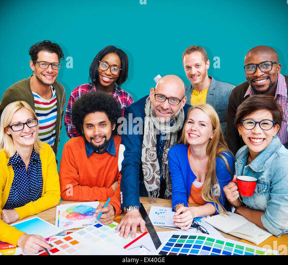 Meeting Corporate Connection Designer Creativity Concept - Stock-Bilder