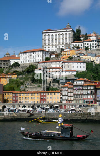 The city of Porto (Oporto) in Portugal - Stock Image