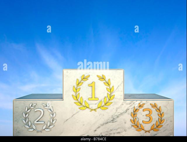 rostrum, Siegerpodest, comparison, competition, Wettbewerb, Auszeichnung, Gewinn, Champion, Erfolg - Stock-Bilder