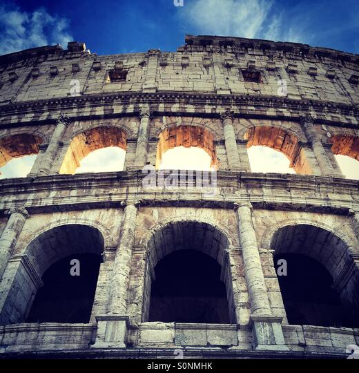 The Colosseum, Rome - Stock Image