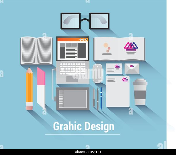 Graphic design vector - Stock Image