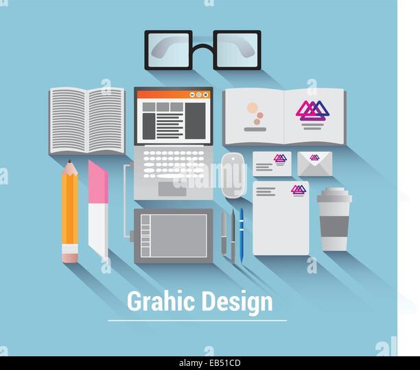 Graphic design vector - Stock Image