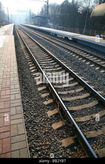 railway - Stock Image