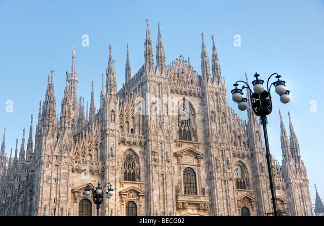 Duomo of Milan, Italy - Stock Image
